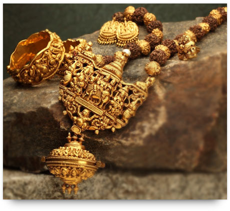 Temple Jewelry - Inspired from old temple architecture