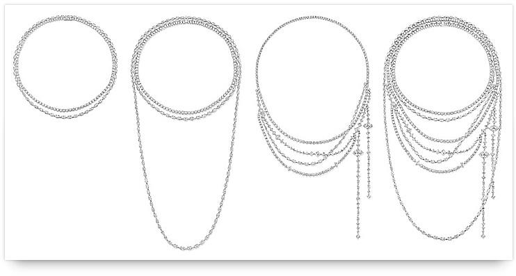 Harry Winston Secret Combination Collection Necklace