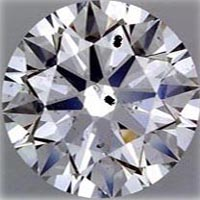 SI2 clarity grade diamond