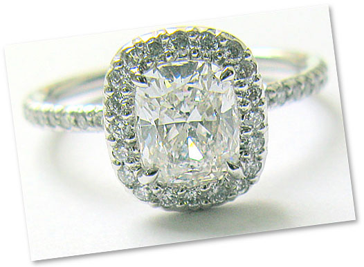affordable engagement ring - Affordable Diamond Wedding Rings