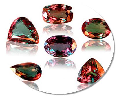 Alexandrite stones