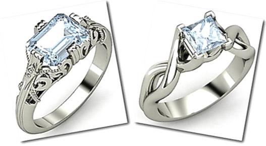 Aquamarine Wedding Bands 42 Elegant Aquamarine engagement ring hardness