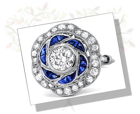 Art Deco Engagement Rings The Mark Of Elegance