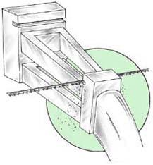 Baguette Seat Grooving