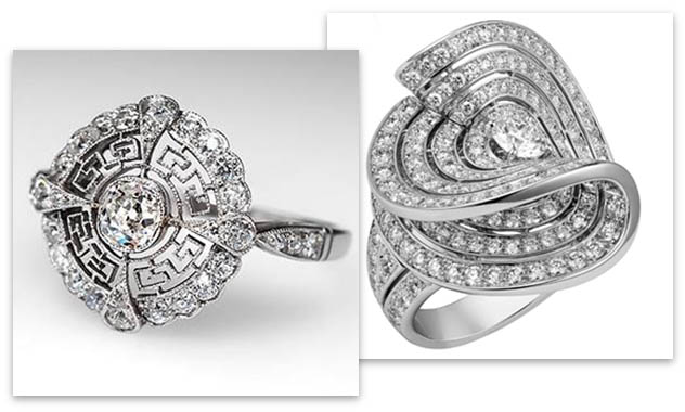 Vintage and Contemporary Cartier Engagement Rings