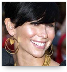 Chandelier earrings with long face