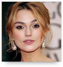 Chandelier earrings with short hair