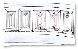 Channel Baguette Different Lengths
