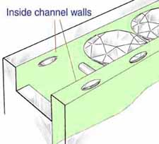 Channel Setting Stone Seating