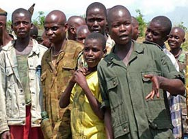 Conflict Diamonds - Child Soldiers