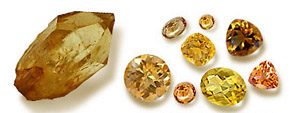 Citrine Color Shades