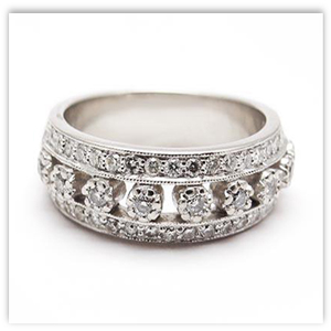Diamond Anniversary Ring Eragems