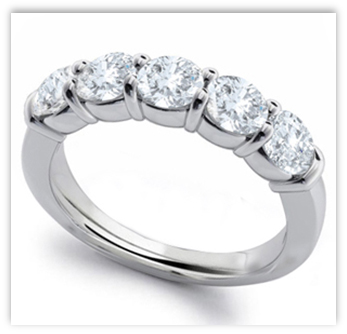 Diamond Anniversary Ring