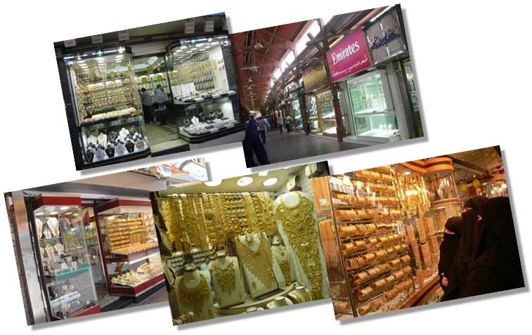 Gold Souk of Dubai