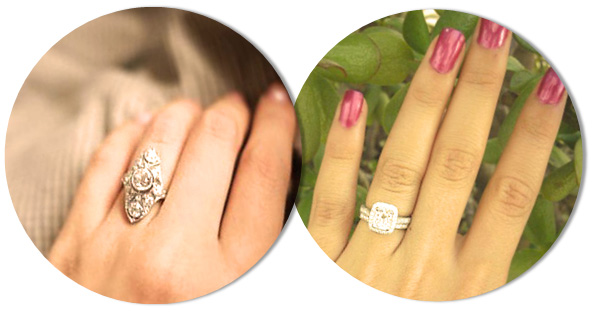 Engagement Ring Styles for long fingers
