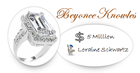Beyonce Knowles' Engagement Ring
