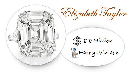 Elizabeth Taylor's Engagement Ring