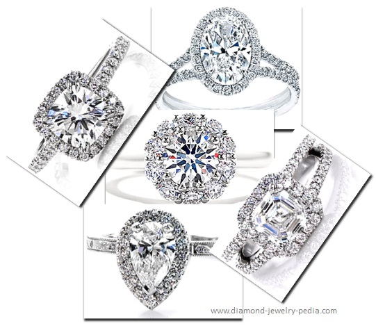 htm ring rings with and accents p milgrain diamond engagement different stone three