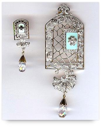Handcrafted Designer Pendant Set