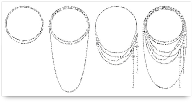 Harry Winston Secret Combination Collection Necklace