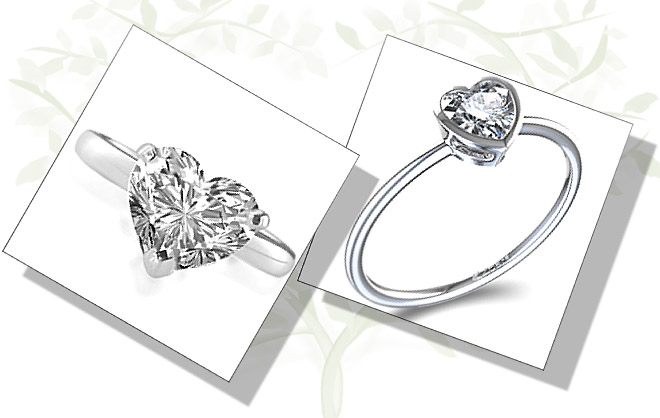 Heart Shaped Engagement Rings For Confident and Showstoppers