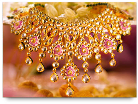 Indian Bridal Jewelry Tips - Kundan Necklace