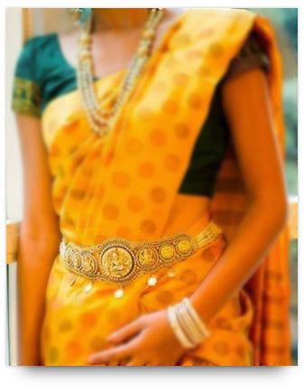 Indian Bridal Jewelry - Waistband