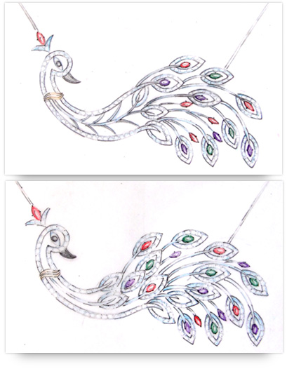 Design of Double Loop Pendants