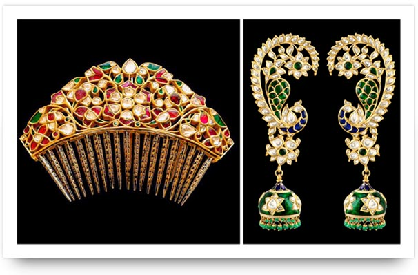 Kundan accessories and earrings Sunita Shekhawat