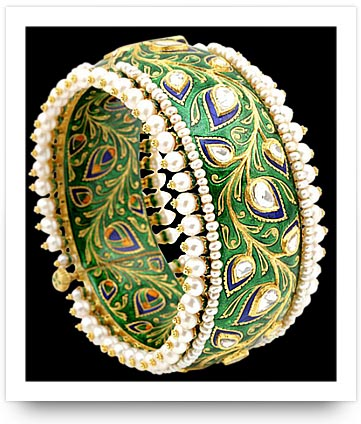Kundan Bracelet Sunita Shekhawat