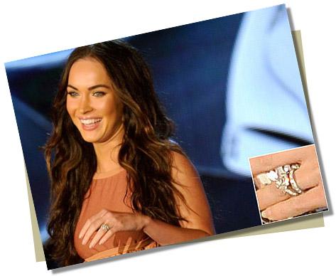 Megan Fox with Yellow Diamond