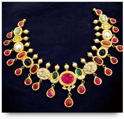 Navaratna Necklace