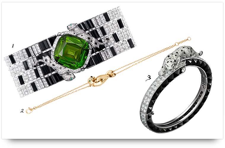 Panthere de Cartier Bracelets