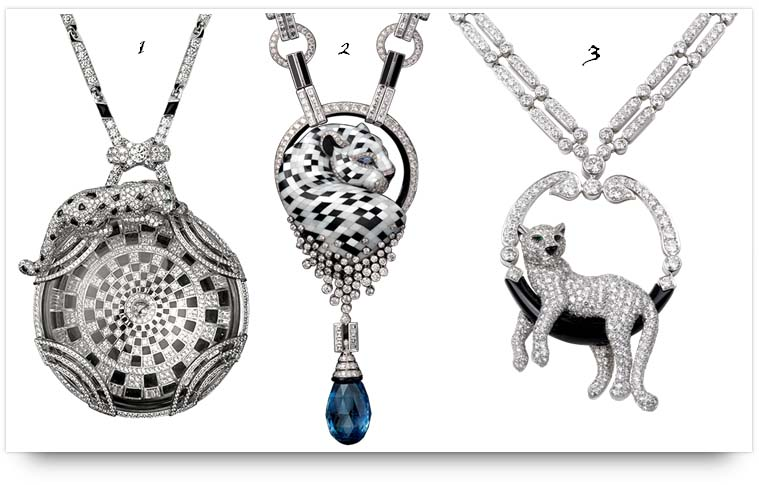 Panthere de cartier wild classic panthere de cartier necklaces mozeypictures Image collections