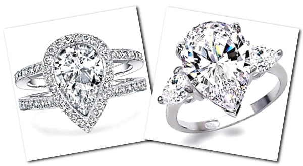 Pear Shaped Engagement Rings For those who play with their own set
