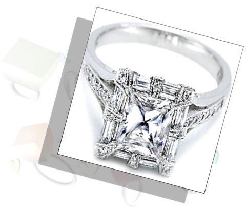 Princess Cut Engagement Rings - Traditional with Modern Touch bb5d20f68