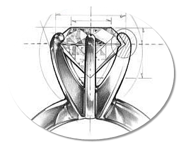 Prong Setting drawing