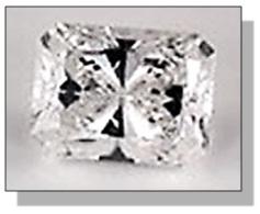 Radiant Diamond Bowtie Effect