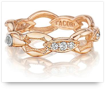 Rose Gold Wedding Ring from Tacori