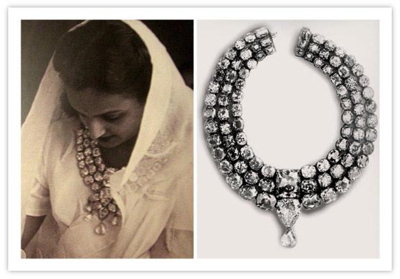 Royal Indian Jewelry Baroda Diamond Necklace