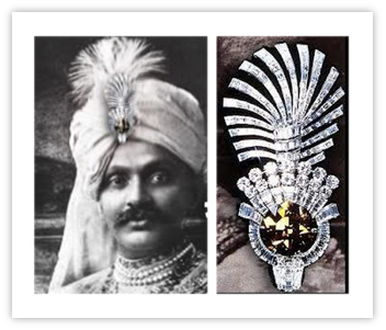 Royal Indian Jewelry Nawanagar Eye of the Tiger