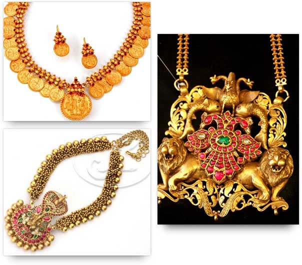 Temple Jewelry - Sacred Motifs