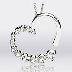 Thanks Giving Diamond Heart Pendant