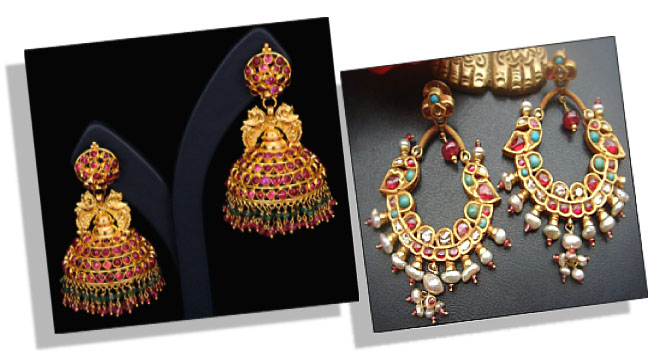 Traditional Indian Jhumkas