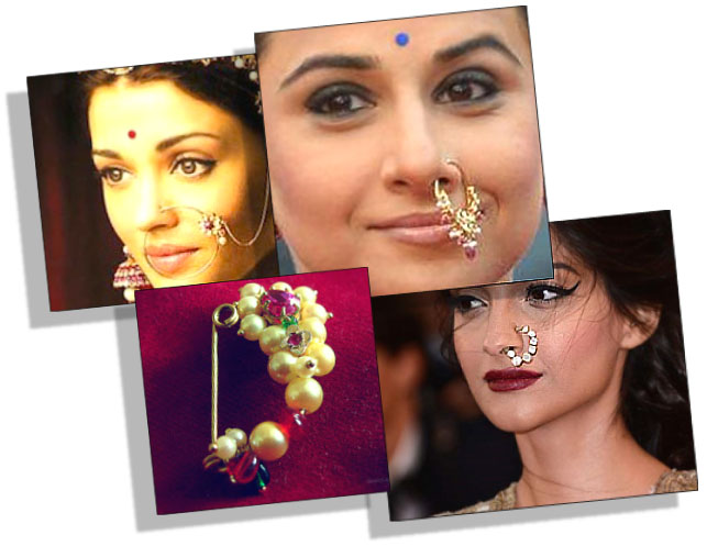 Traditional Indian Nose Rings