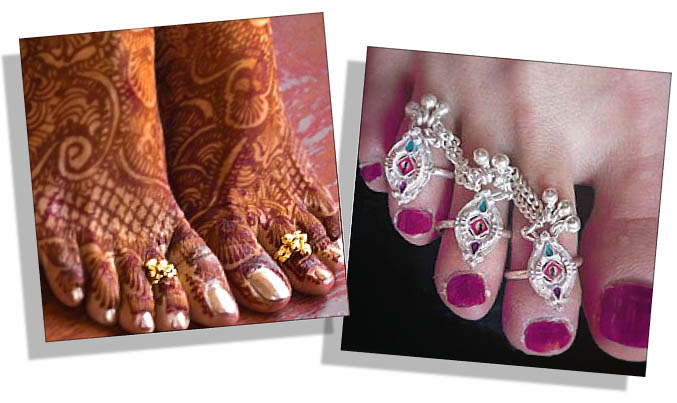 Traditional Indian Toe Rings