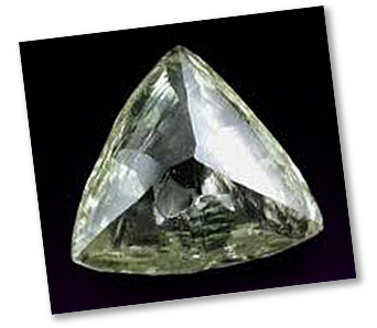 Trilliant Diamond - Rough Stone (Macle)