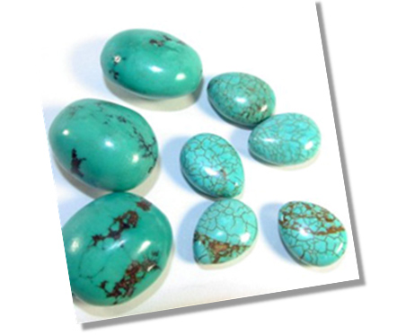 Turquoise color shades