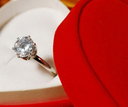 Valentines Day Engagement Ring