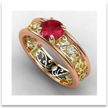 Design Your Own Wedding Ring Online Uk